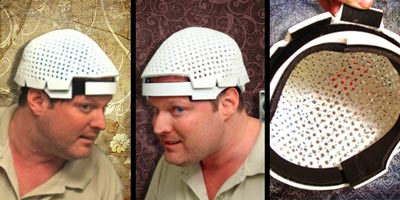 I make the laser helmet for hair loss that changed the world, The Laser Messiah II!