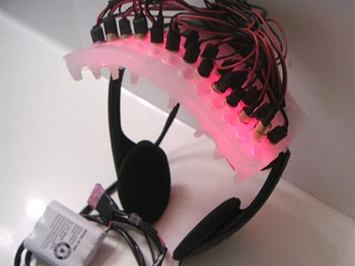 Laser LLLT Headphones for Hair Loss -made by Backspace