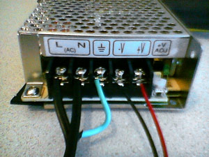 TRC power supply properly wired