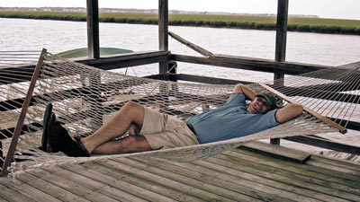 OverMachoGrande in a Hammock on Edisto Island, SC!