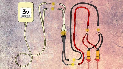 Wiring two or more diodes is ridiculously easy!