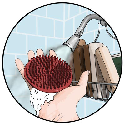 Scalp Scrubber for stepping up your hair loss fight!